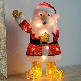 Waving Santa Luminary Image