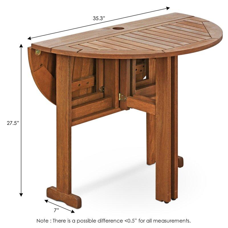 Genial Arianna Folding Dining Table