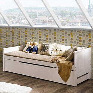 Tomi Twin Platform Bed With Trundle by The Collection German Furniture Best
