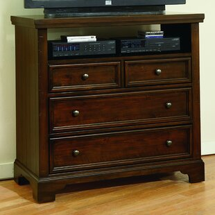 Darby Home Co Courtney 4 Drawer Media Chest Image