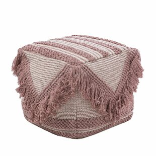 Portalia Pouf by Bungalow Rose
