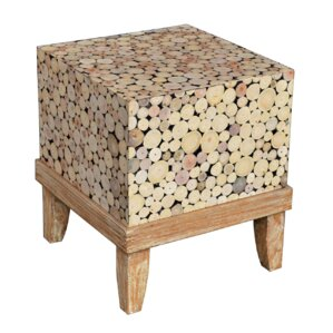 Kenia Hand Crafted End Table b..