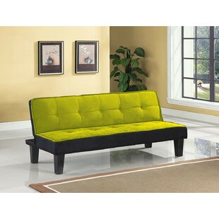 Latitude Run Emmanuelle Sturdy Flannel Fabric Adjustable Convertible Sofa
