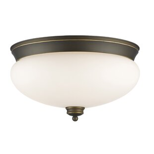 Darby Home Co Casselman 3-Light Flush Mount