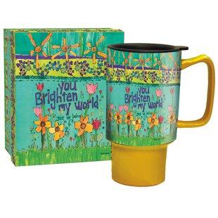 Edith Brighten My World Travel Mug