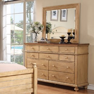 Three Posts Courtdale 3 Drawer Nightstand