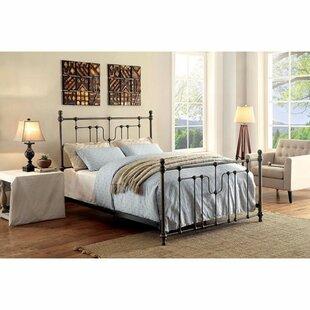 Williston Forge Walnut Panel Bed