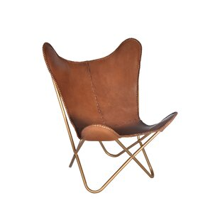 Ordinaire Justa Leather Butterfly Chair