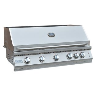 Professional BBQ 5-Burner Built-In Convertible Gas Grill By Kokomo Grills