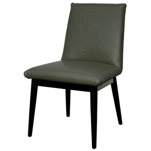 Braeswood Bonded Leather Side Chair (Set of 2) Foundry Select