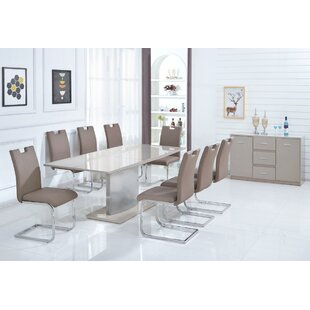 Breunig Extendable Dining Set With 4 Chairs