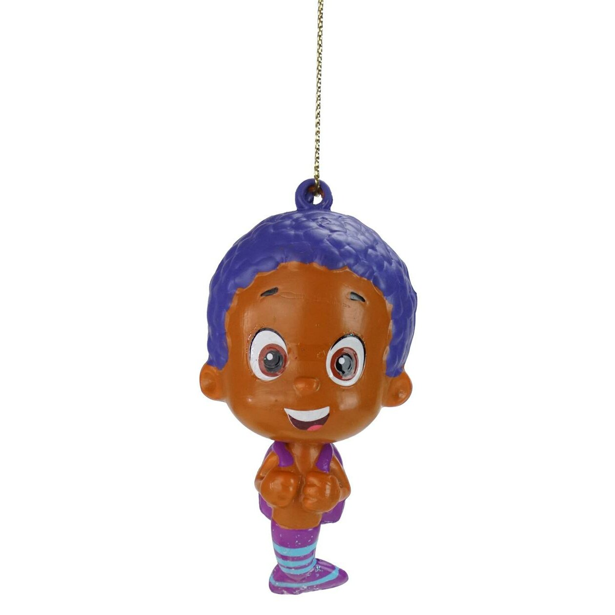 Goby Nickelodeon Bubble Guppies Character Christmas Hanging Figurine  Ornament