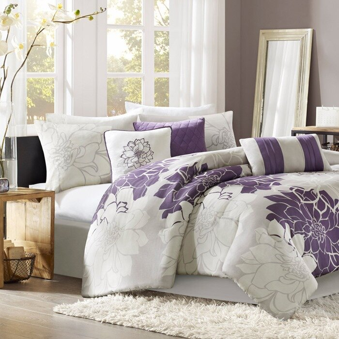 Broadwell 7 Piece Reversible Comforter Set