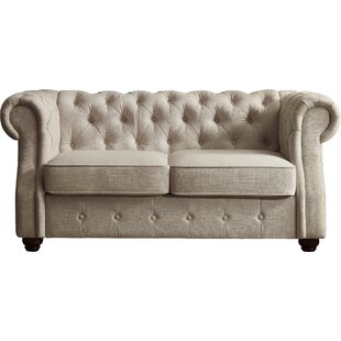 Stowmarket Chesterfield Loveseat
