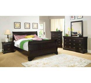 Dinah Sleigh Bed Dar Home Co