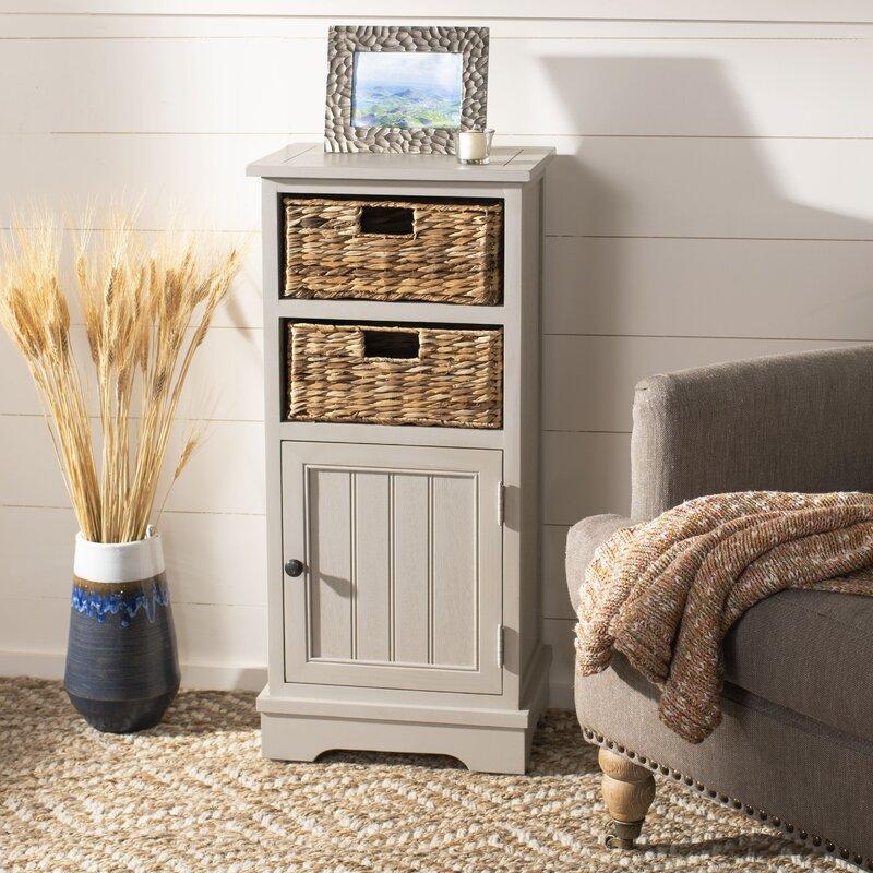 Santa Cruz 1 Door Accent Cabinet by Beachcrest Home