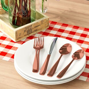 Imogene 20-Piece Flatware Set, Service for 4