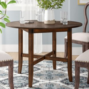 Inch Round Dining Table Set Wayfair - Cream distressed dining table
