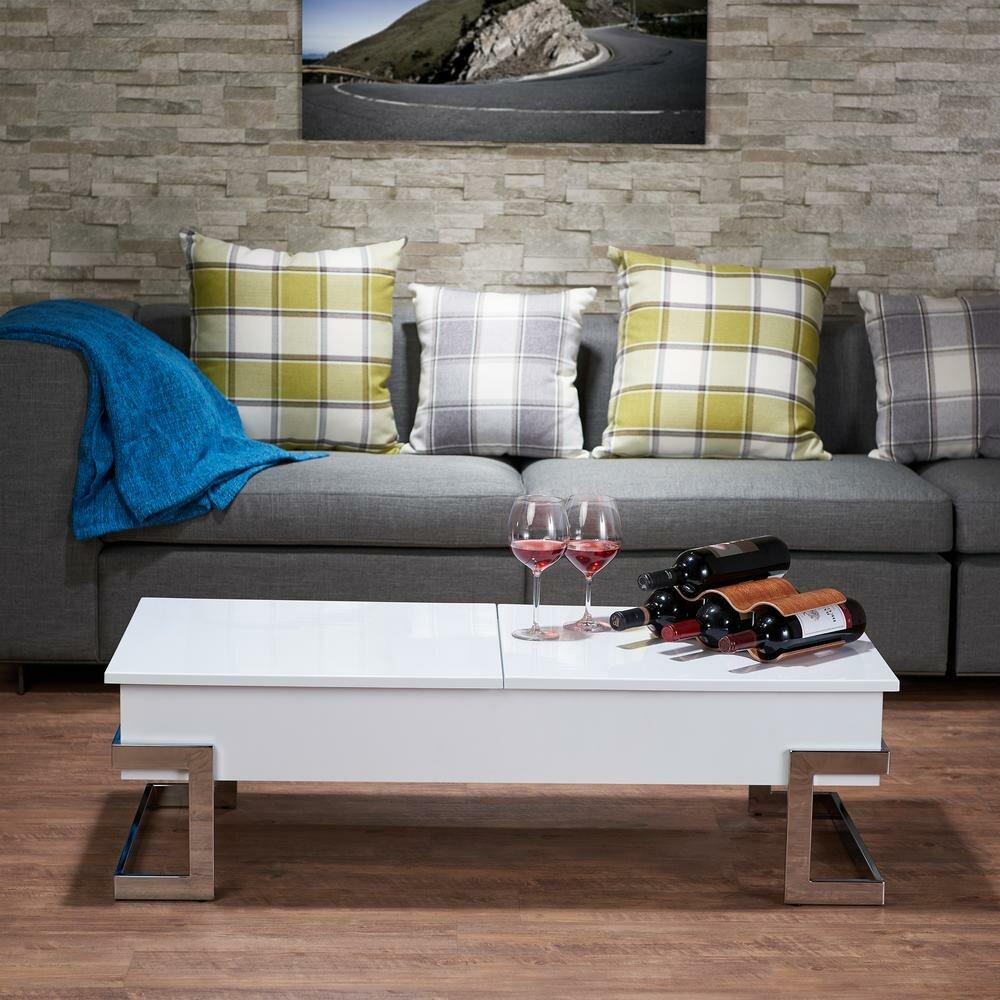 Orren Ellis Peden Modern Lift Top Coffee Table Wayfair