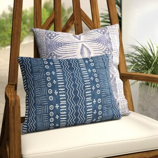 Adeline Modern Outdoor Lumbar Pillow