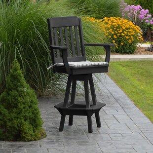 swivel patio bar stools you ll love wayfair