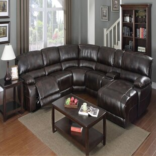 Darby Home Co Egremt Reclining Sectional