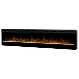 Lester Wall Mounted Electric Fireplace by Orren Ellis