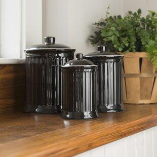 Newmont 3 Piece Kitchen Canister Set