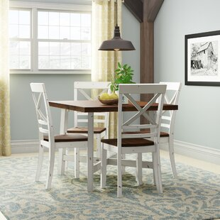 Dunnes 5 Piece Dining Set by August Grove Today Only Sale