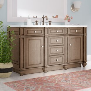Price comparison Lambrecht 60 Double Bathroom Vanity Base Only By Alcott Hill