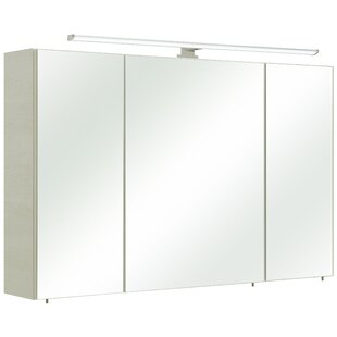 Amora 110 X 70cm Mirrored Wall Mounted Cabinet By Quickset