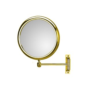 Look for Doppiolo Single Arm 3X Magnifying Makeup / Shaving Mirror ByWS Bath Collections
