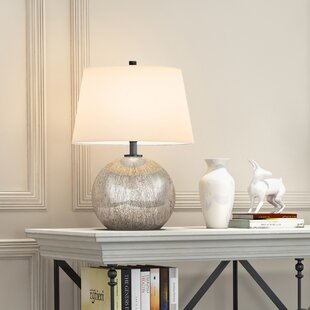 Compare prices Fennell 20 Table Lamp By Wrought Studio
