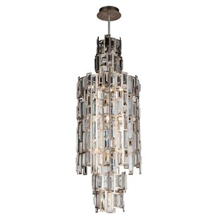 Colby 10-Light Geometric Chandelier by Ro..