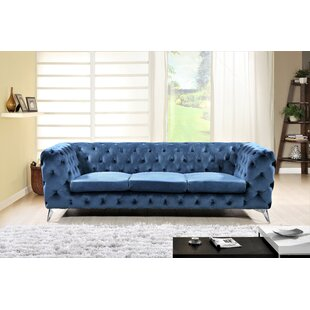 Buy luxury Weiss Chesterfield Sofa by Mercer41 Reviews (2019) & Buyer's Guide