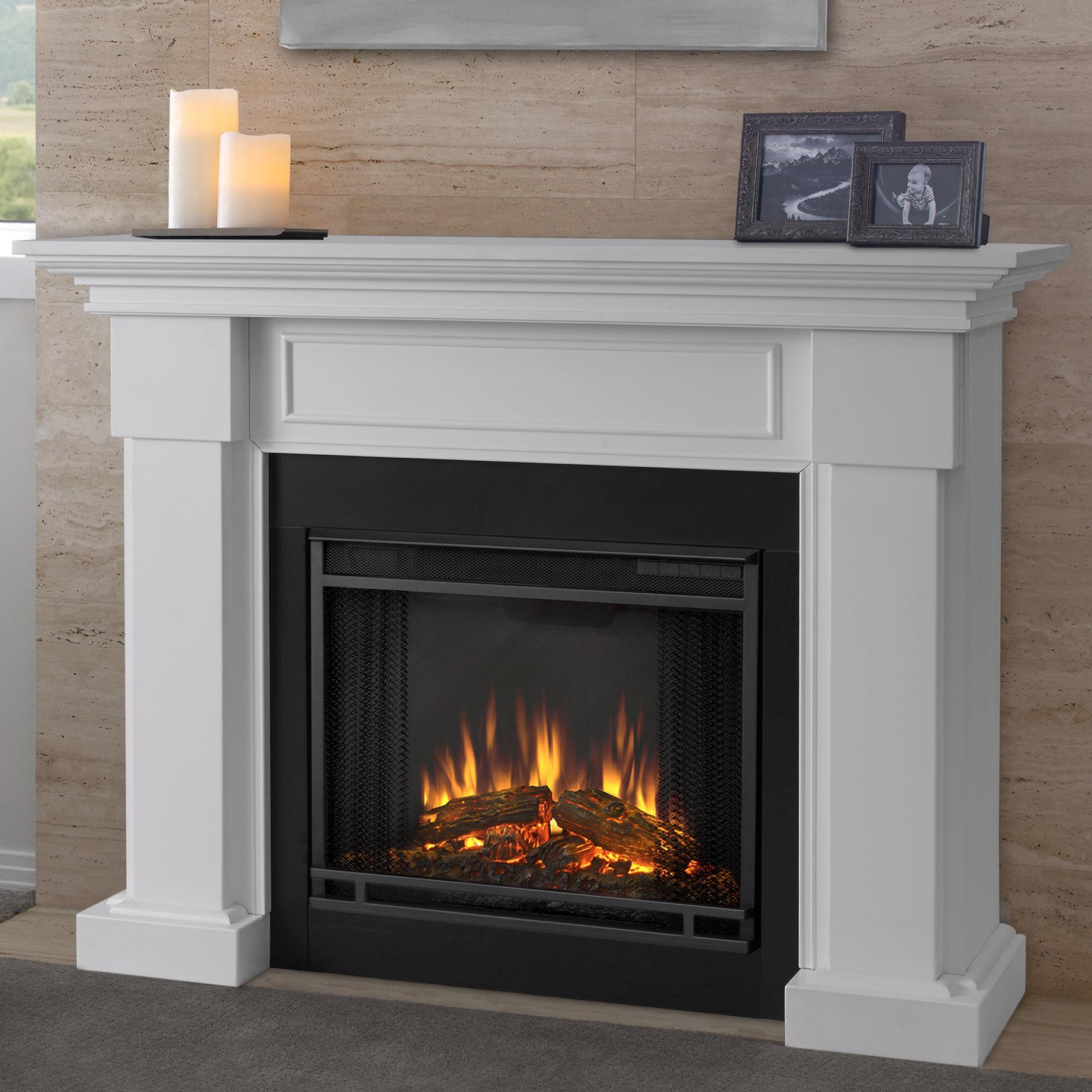 Real Flame Hillcrest Electric Fireplace U0026 Reviews | Wayfair