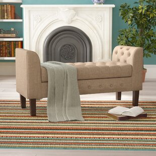 Charlton Home New Ashford Upholstered Storage Bench