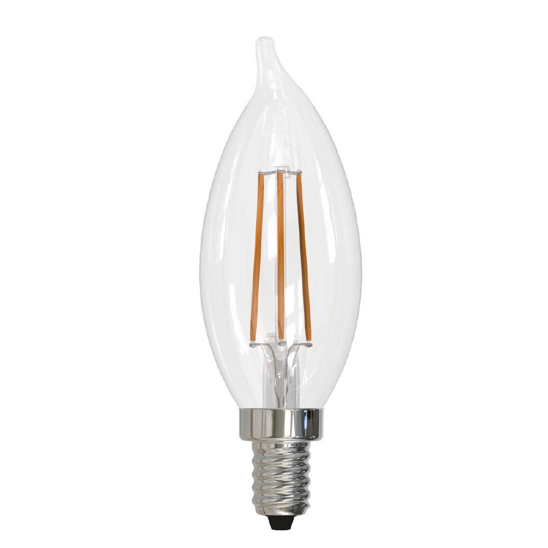 Bulbrite Industries 5 Watt 60 Watt Equivalent Ca10 Led Dimmable Light Bulb E12 Candelabra Base Wayfair