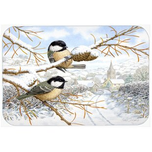 Coal Birds Kitchen/Bath Mat