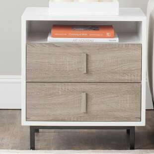 Kefton End Table with Storage by Safavieh