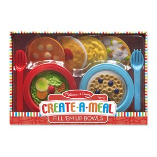 Compare & Buy 12 Piece Create a Meal Fill Em Up Bowl Set By Melissa & Doug