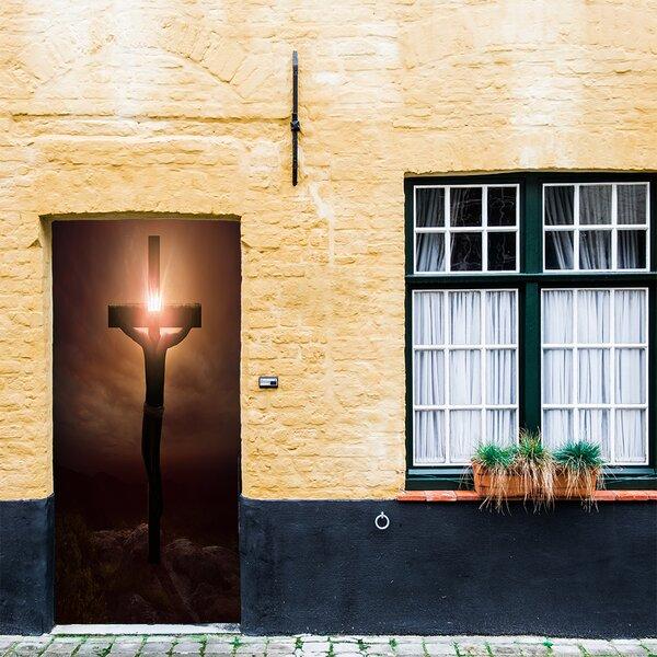 Easter Door Cover: The Holiday Aisle Jesus Easter Door Cover Door Mural