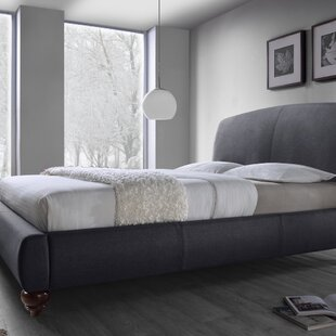 Upholstered Platform Bed by DG..