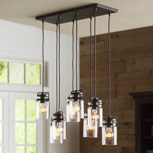 Sue 8-Light Cluster Pendant by Greyleigh