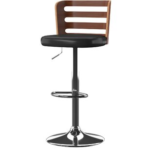 Eita Adjustable Height Swivel Bar Stool b..