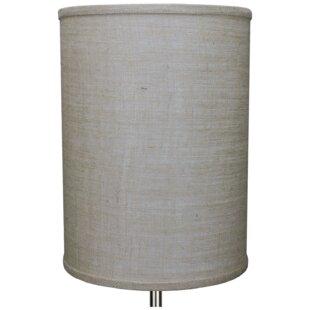 11 Burlap Drum Lamp Shade