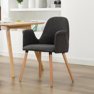 Weathersby Upholstered Dining Chair by George Oliver SKU:AA685540 Information
