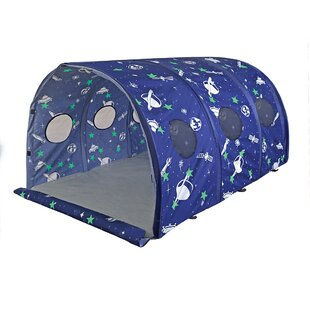 Glow in The Dark Space Play Tunnel By Pacific Play Tents
