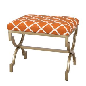 Modern Style Fabric Bench Ottoman by Adeco T..
