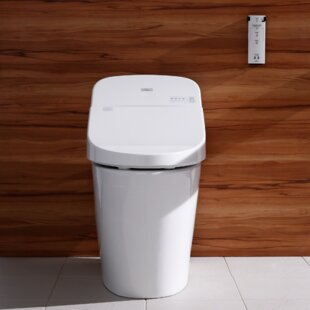Find Washlet G400 Integrated Dual Flush 1.28 or 0.9 GPF Floor Mounted Toilet with Bidet Seat By Toto